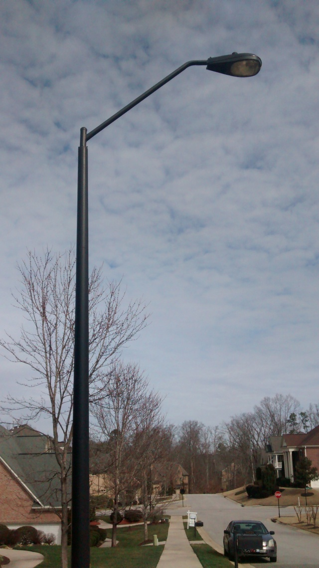 Street Light black